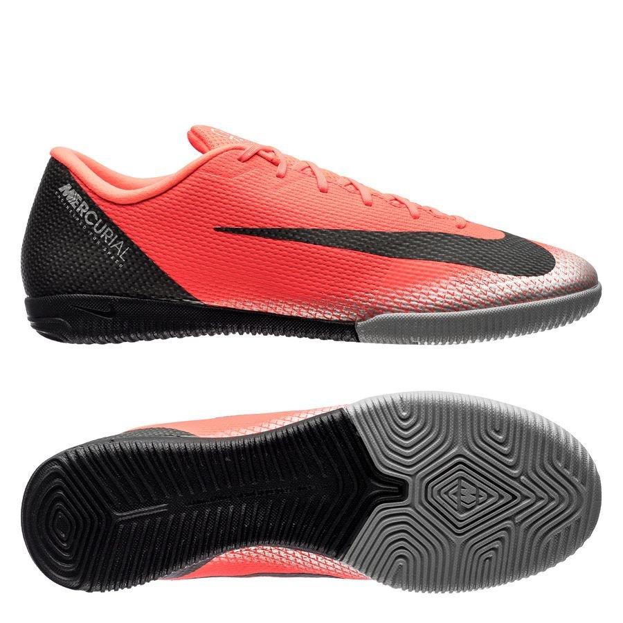 Nike Mercurial VaporX 12 Academy IC CR7 Chapter 7: Built On Dreams - Rouge/Noir
