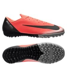 Nike Mercurial VaporX 12 Academy TF CR7 Chapter 7: Built On Dreams - Röd/Svart