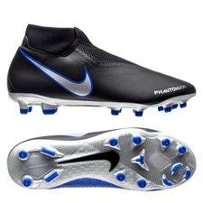 nike phantom vision academy df mg always forward - sort/sølv/blå - fodboldstøvler