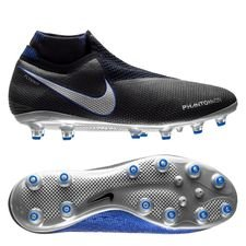 Nike Phantom Vision Elite DF AG-PRO Always Forward - Black/Metallic Silver/Racer Blue