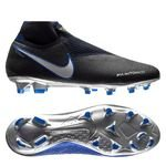 Nike Phantom Vision Elite DF FG Always Forward - Noir/Argenté/Bleu