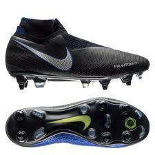 Nike Phantom Vision Elite DF SG-PRO Anti-Clog Always Forward - Musta/Hopea/Sininen ENNAKKOTILAUS