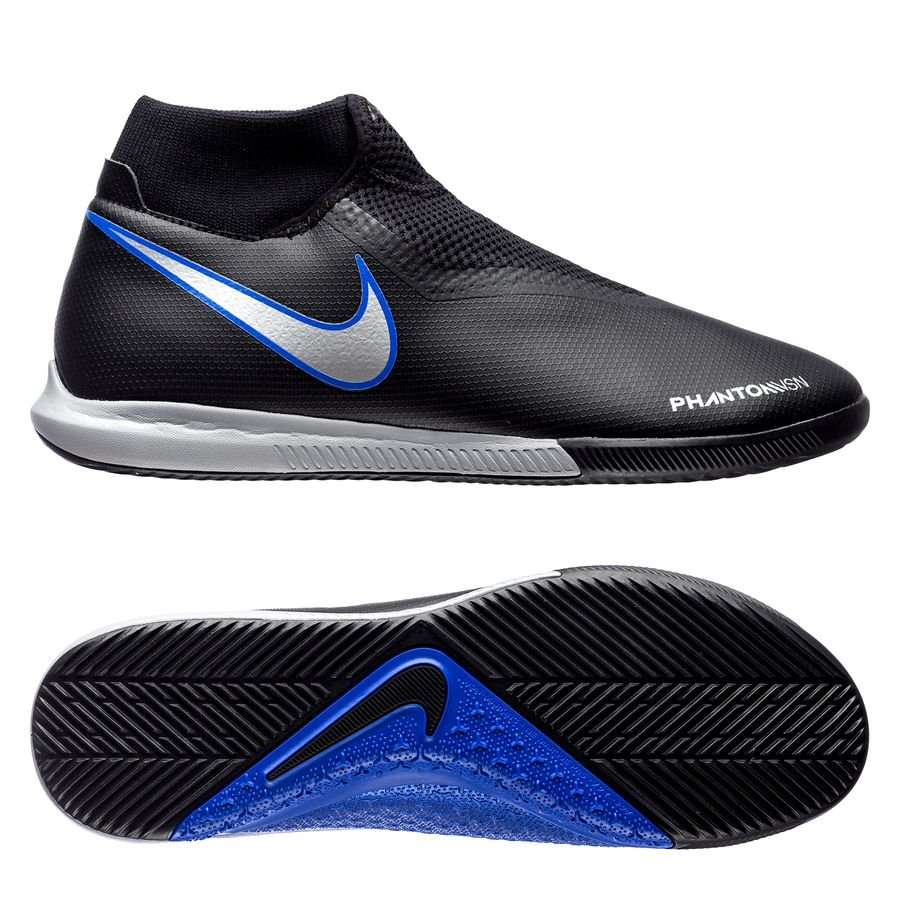 nike phantom vision academy df ic always forward - black metallic  silver racer blue ... 580954e73