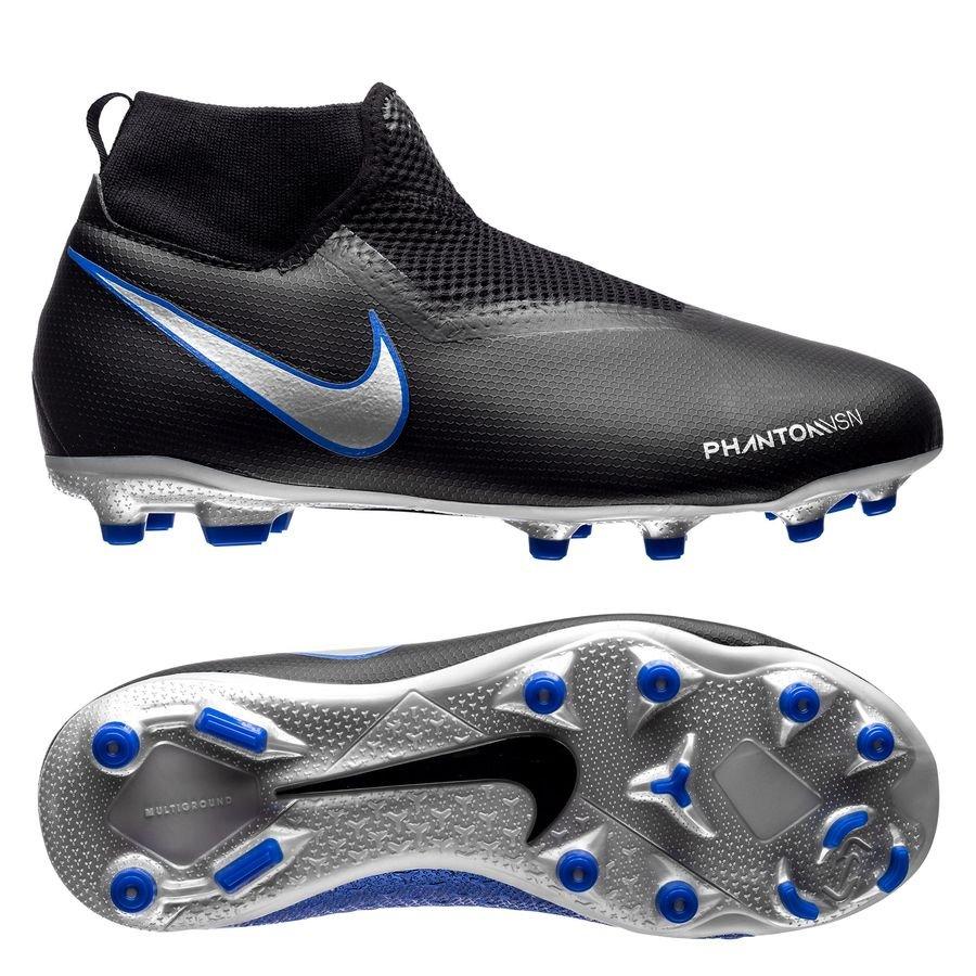 sale retailer 1bb67 125cb Nike Phantom Vision Academy DF MG Always Forward - Black Silver Blue Kids    www.unisportstore.com