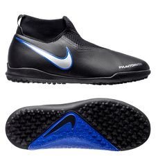 Nike Phantom Vision Academy DF TF Always Forward - Svart/Silver/Blå Barn