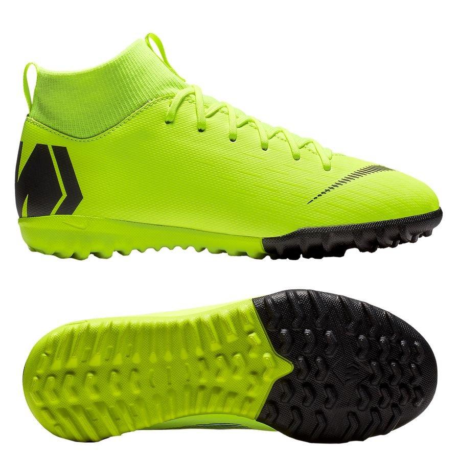 Nike Mercurial Superfly 6 Academy TF Always Forward - Jaune Fluo/Noir Enfant PRÉ-COMMANDE