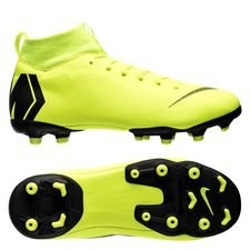 Nike Mercurial Superfly 6 Academy MG Always Forward - Neon/Zwart Kinderen