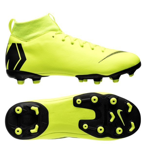 Nike Mercurial Superfly 6 Academy MG Always Forward Jaune FluoNoir Enfant