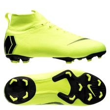 Nike Mercurial Superfly 6 Elite FG Always Forward - Neon/Svart Barn