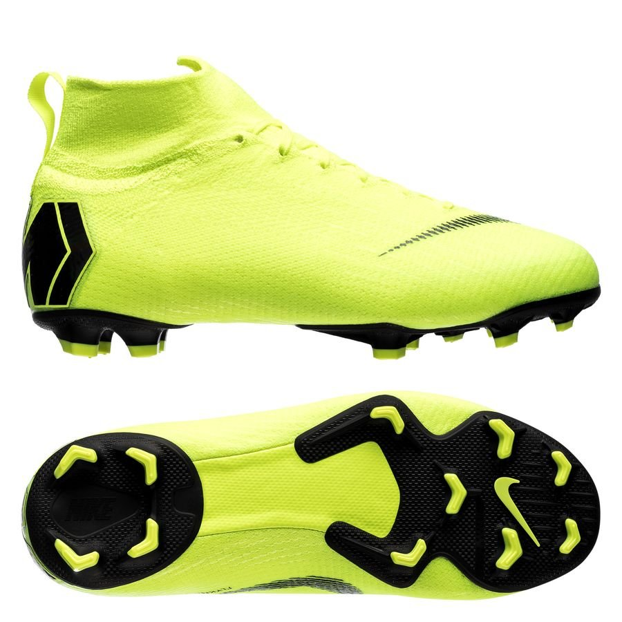 Nike Mercurial Superfly 6 Elite FG Always Forward - Jaune Fluo/Noir Enfant