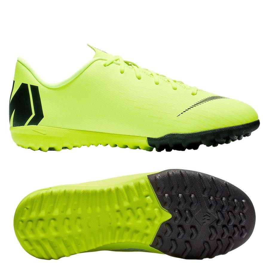 Nike Mercurial VaporX 12 Academy TF Always Forward - Jaune Fluo/Noir Enfant