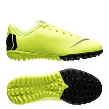 Nike Mercurial VaporX 12 Academy TF Always Forward - Neon/Zwart Kinderen