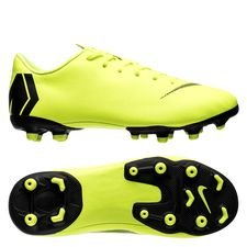 Nike Mercurial Vapor 12 Academy MG Always Forward - Neon/Svart Barn