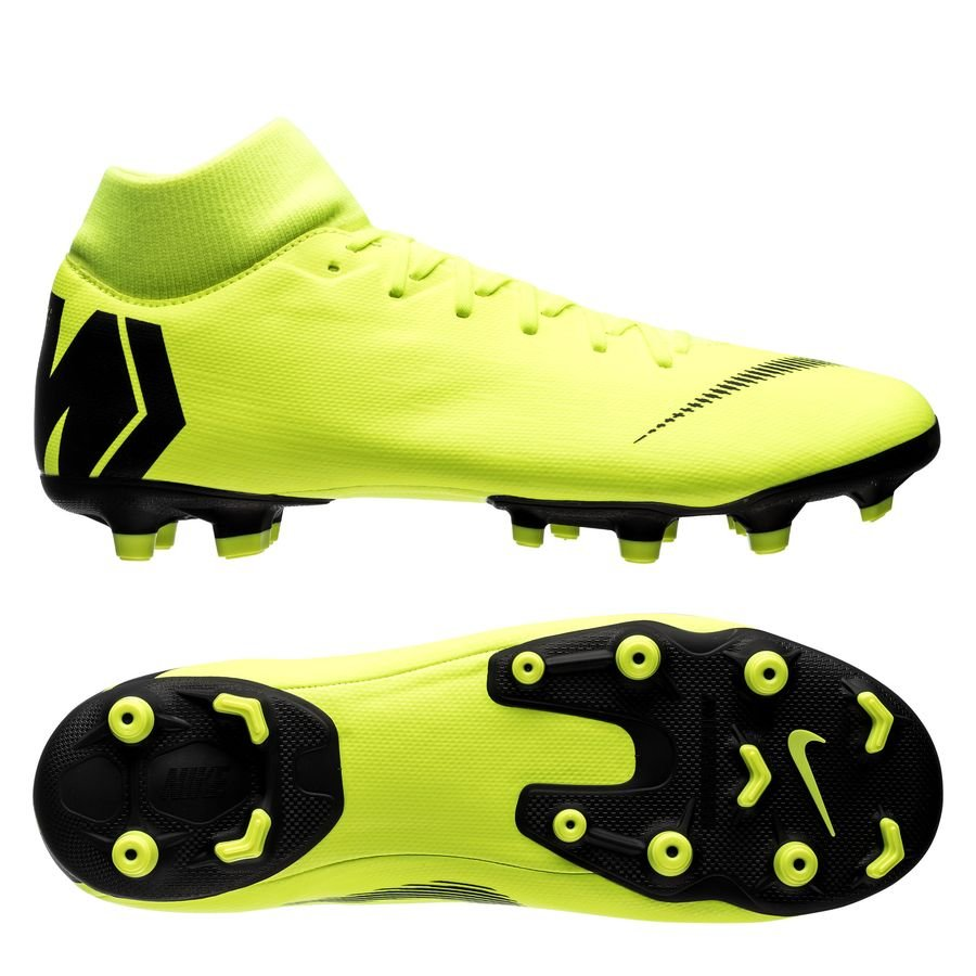 Nike Mercurial Superfly 6 Academy MG - Neon/Sort