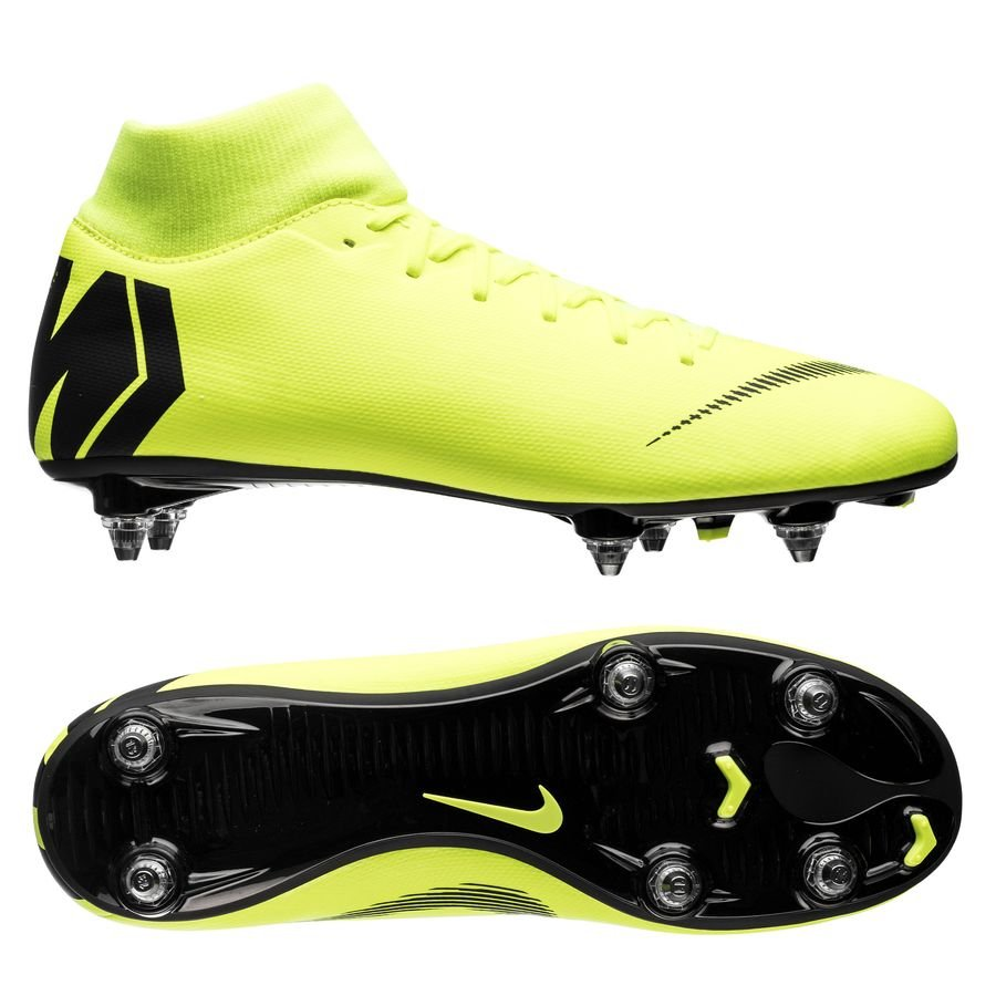 Nike Mercurial Superfly 6 Academy SG-PRO - Neon/Sort