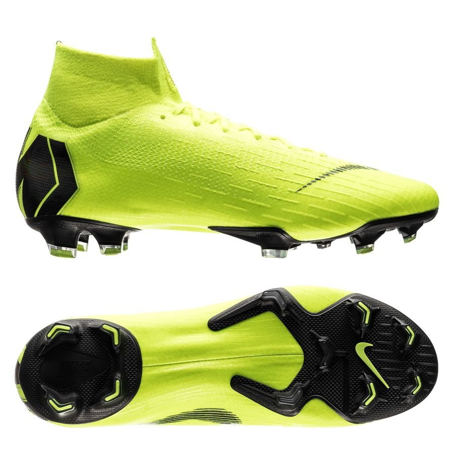 Nike Mercurial Superfly 6 Elite FG - Neon/Sort