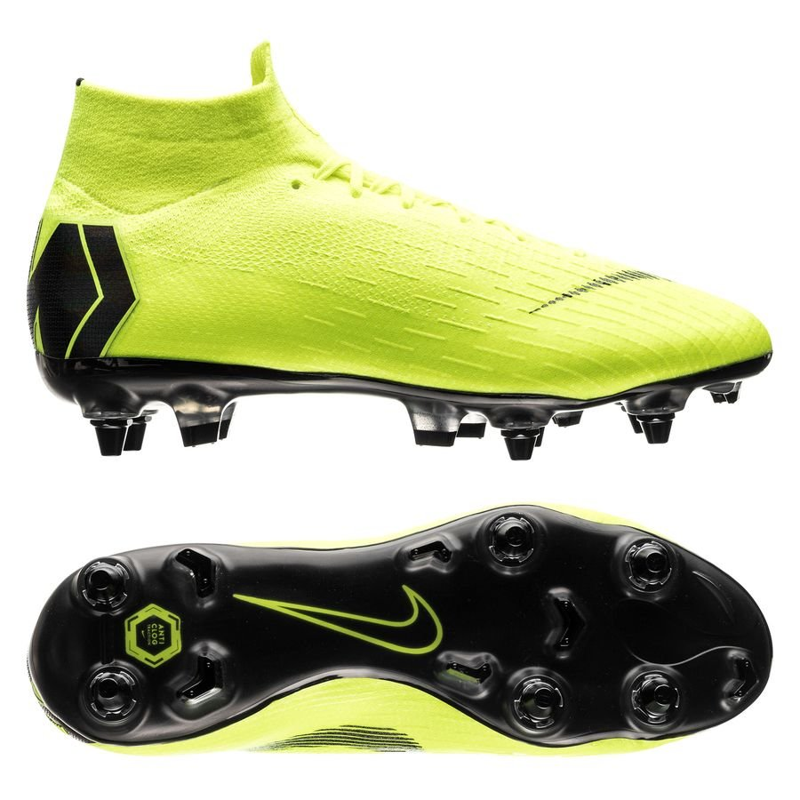 Nike Mercurial Superfly 6 Elite SG-PRO - Neon/Sort