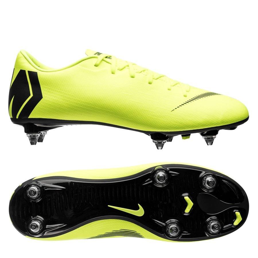 Nike Mercurial Vapor 12 Academy SG-PRO - Neon/Sort