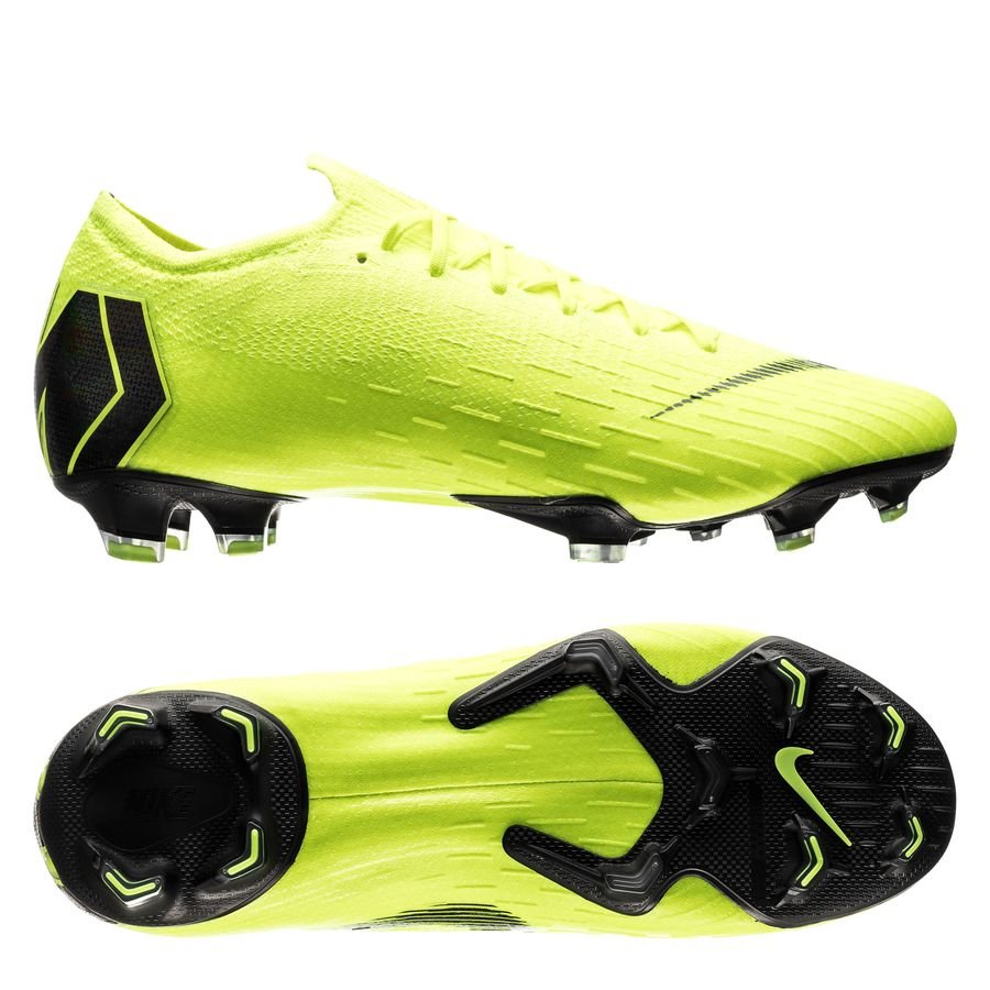 Nike Mercurial Vapor 12 Elite FG - Neon/Sort