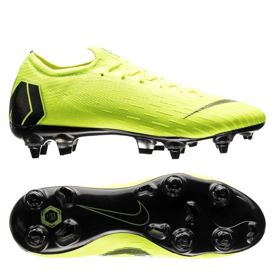 Nike Mercurial Vapor 12 Elite SG-PRO Anti-Clog Always Forward - Neon/Sort thumbnail