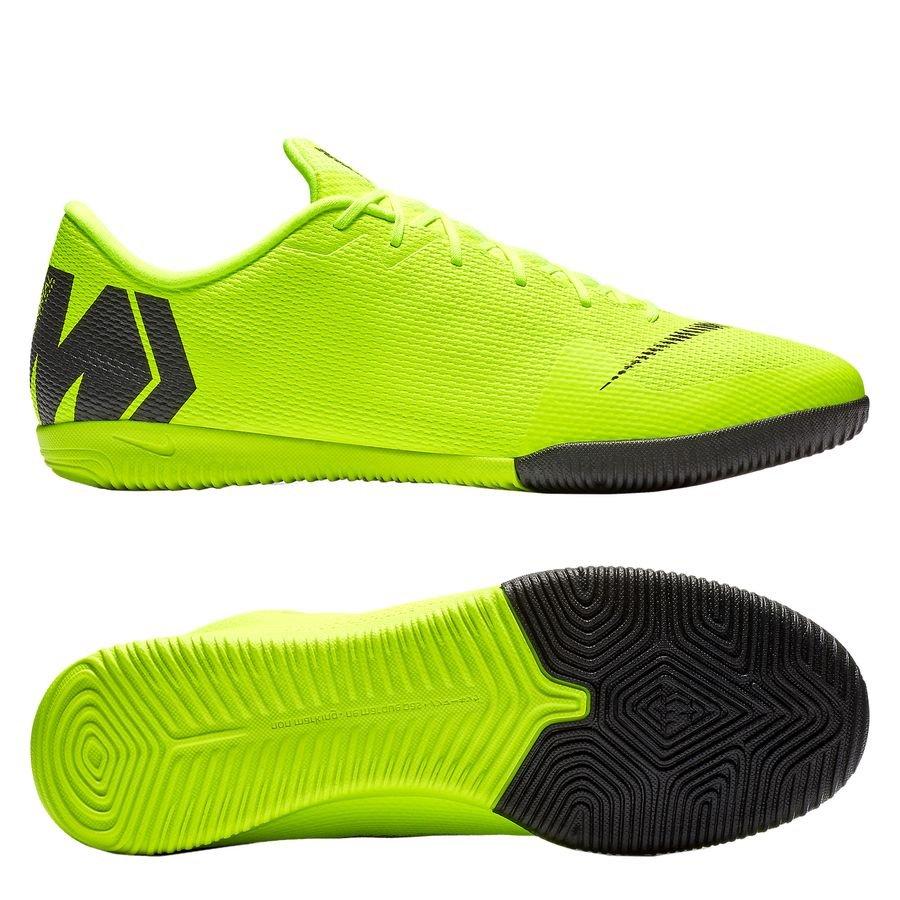Nike Mercurial VaporX 12 Academy IC Always Forward - Jaune Fluo/Noir