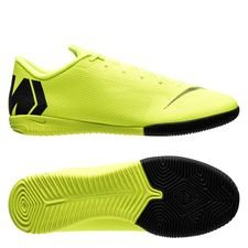 Nike Mercurial VaporX 12 Academy IC Always Forward - Neon/Svart