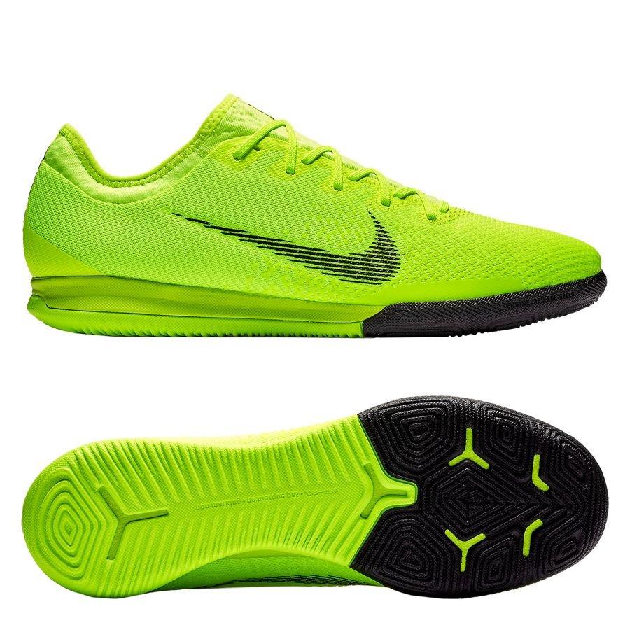 Nike Mercurial VaporX 12 Pro IC Always Forward - Jaune Fluo/Noir PRÉ-COMMANDE
