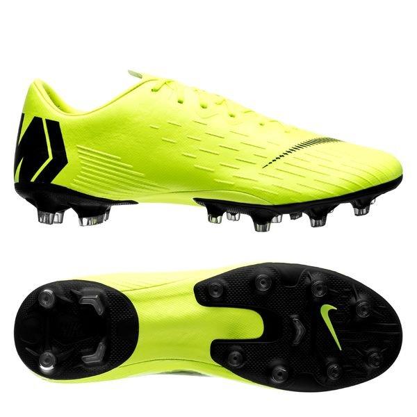 Nike Mercurial Vapor 12 Pro AG-PRO - Neon/Sort