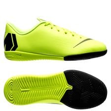 Nike Mercurial VaporX 12 Academy IC Always Forward - Neon/Svart Barn