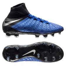 Nike Hypervenom 3 Elite DF FG Always Forward - Racer Blue/Zwart Kinderen