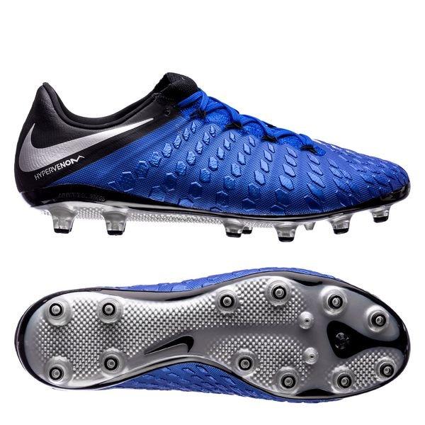separation shoes 88eb0 286ad Nike Hypervenom 3 Elite AG-PRO Always Forward - Blå Sort 0