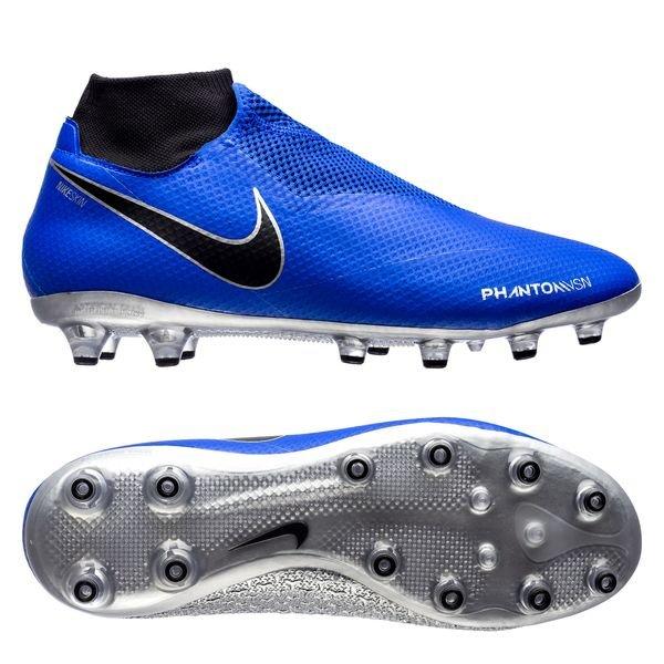 Nike Phantom Vision Pro DF AG-PRO - Blå/Sort