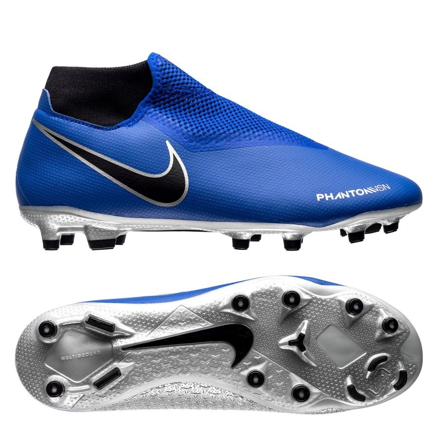 Nike Phantom Vision Academy DF MG Always Forward - Bleu/Noir