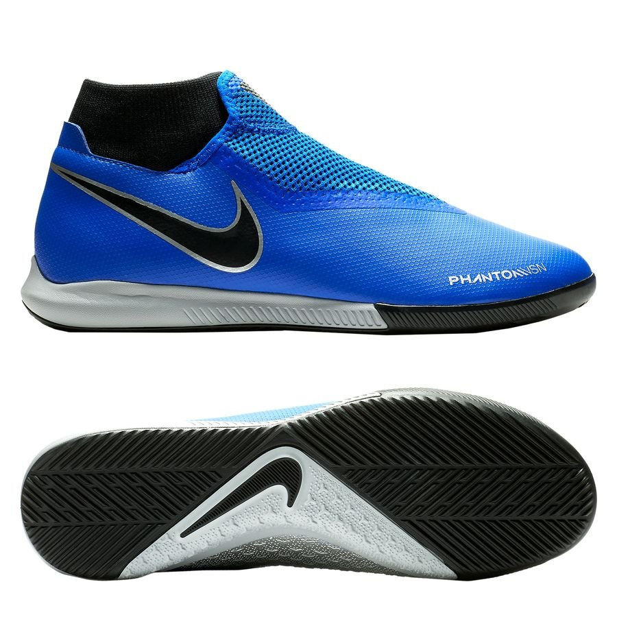 Nike Phantom Vision Academy DF IC Always Forward - Bleu/Noir
