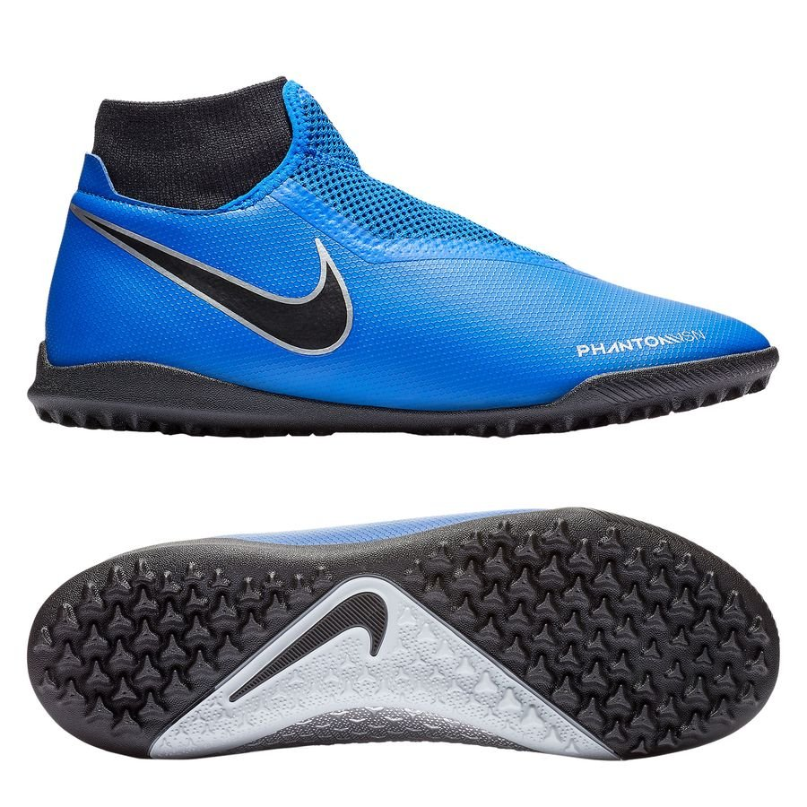 Nike Phantom Vision Academy DF TF Always Forward - Bleu/Noir