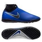 Nike Phantom Vision React Pro DF TF Always Forward - Blau/Schwarz