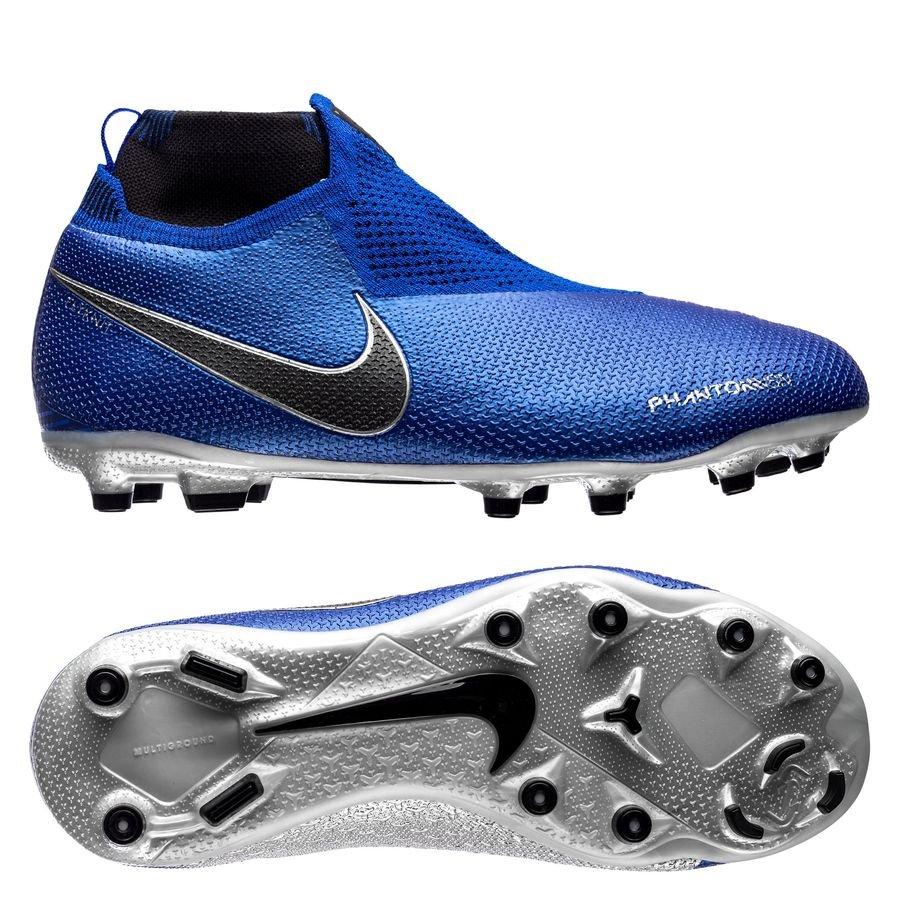 chaussure de foot nike phantom bleu