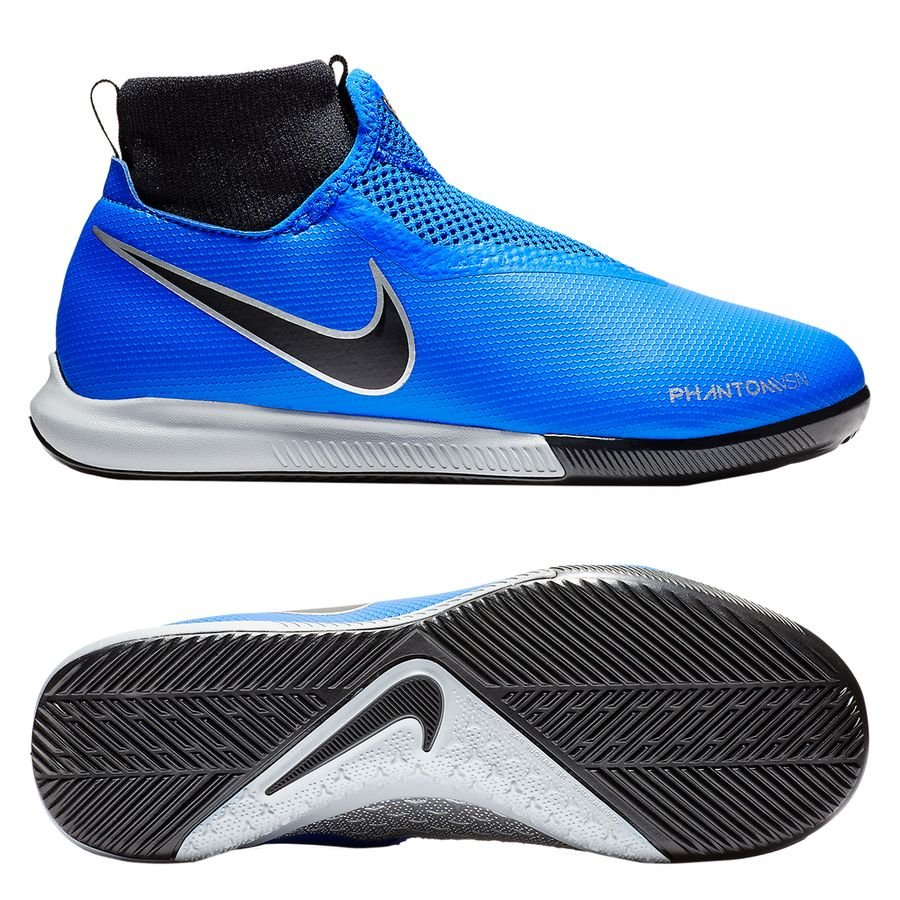 Nike Phantom Vision Academy DF IC Always Forward - Bleu/Noir Enfant