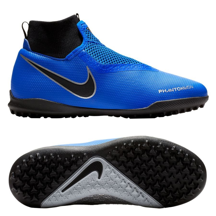 Nike Phantom Vision Academy DF TF Always Forward - Bleu/Noir Enfant