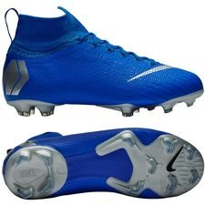 Nike Mercurial Superfly 6 Elite FG Always Forward - Blau/Silber Kinder