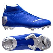 Nike Mercurial Superfly 6 Elite FG Always Forward - Racer Blue/Zilver Kinderen