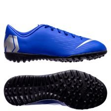 Nike Mercurial VaporX 12 Academy TF Always Forward - Blå/Silver Barn