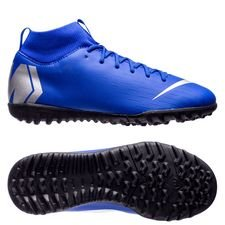 Nike Mercurial Superfly 6 Academy TF Always Forward - Racer Blue/Zilver Kinderen