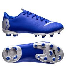 Nike Mercurial Vapor 12 Academy MG Always Forward - Blå/Silver Barn