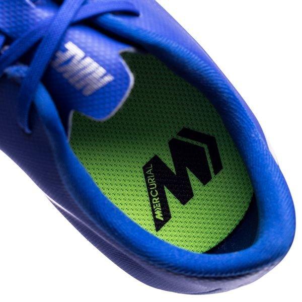 pretty nice 74cce 77677 Nike Mercurial Vapor 12 Academy MG Always Forward - Blå Silver Barn