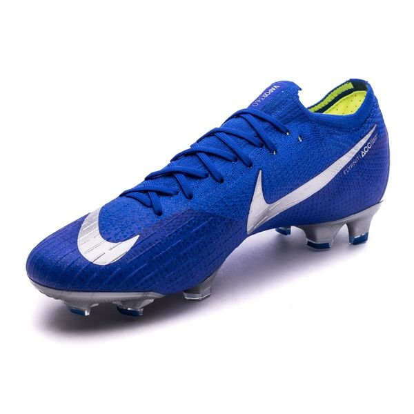 326b35dabcc Nike Mercurial Vapor 12 Elite FG Always Forward - Racer Blue Metallic Silver