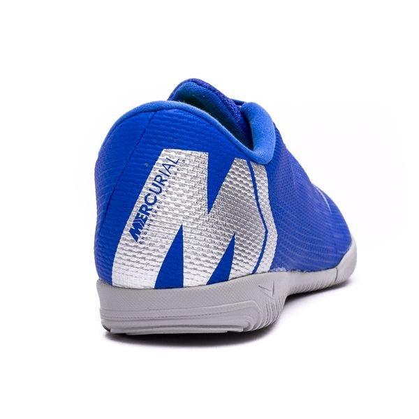 3e63ccc4d05 Nike Mercurial VaporX 12 Academy IC Always Forward - Racer Blue Metallic  Silver