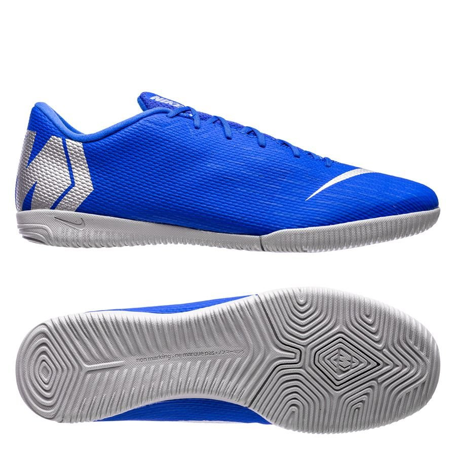 4b179833e5b Nike Mercurial VaporX 12 Academy IC Always Forward – Blå/Sølv