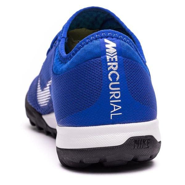 c2882df517c Nike Mercurial VaporX 12 Pro TF Always Forward - Racer Blue Metallic Silver