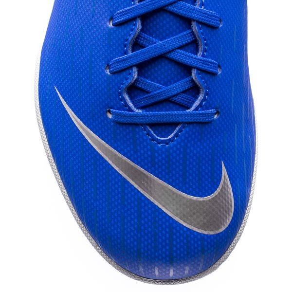 960f4633466 Nike Mercurial VaporX 12 Academy IC Always Forward - Racer Blue Metallic  Silver Kids
